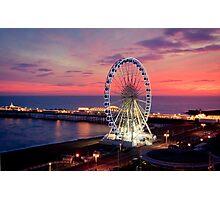 Brighton Nightscape IV Photographic Print