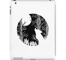 The Wolf and the Moon iPad Case/Skin
