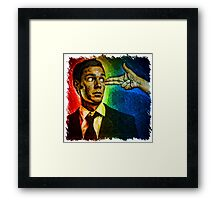 Causality in the Human Condition Framed Print