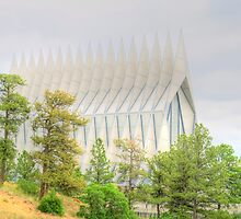 United States Air Force Academy Cadet Chapel by BarbL