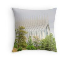 United States Air Force Academy Cadet Chapel Throw Pillow