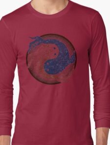 yin yang fish, shuiwudao mandala Long Sleeve T-Shirt