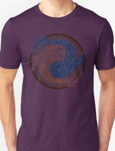 yin yang fish, shuiwudao mandala Unisex T-Shirt