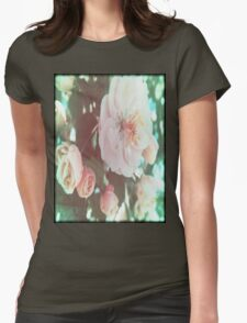 Crabapple Blossoms with Flare™ Womens Fitted T-Shirt