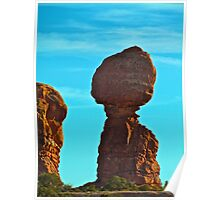 Balanced Rock- Arches N.P. Poster