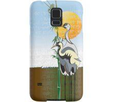 """""""Cranes"""" iPhone Case Samsung Galaxy Case/Skin"""