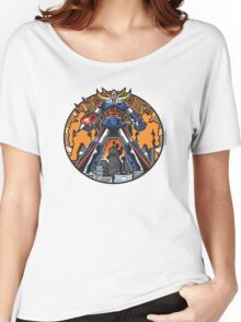 Los Robots Gigantes: It Begins Women's Relaxed Fit T-Shirt