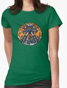 Los Robots Gigantes: It Begins Womens Fitted T-Shirt