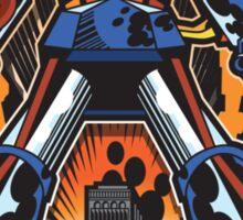 Los Robots Gigantes: It Begins Sticker