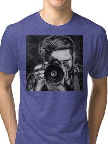 Wide Angle Lens Tri-blend T-Shirt
