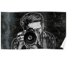 Wide Angle Lens Poster