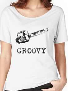 Ash vs Evil Dead - Groovy Women's Relaxed Fit T-Shirt