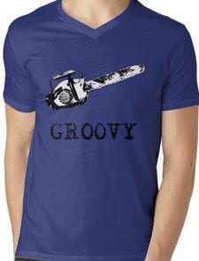 Ash vs Evil Dead - Groovy Mens V-Neck T-Shirt