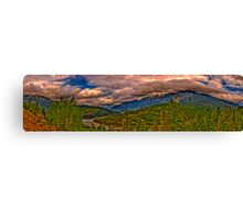 Nature Panoramic Canvas Print