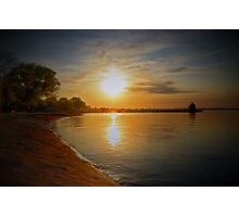Lake Sky Photographic Print