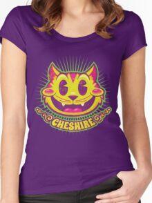 Cheshire Originals - Vintage Tutti Frutti Women's Fitted Scoop T-Shirt
