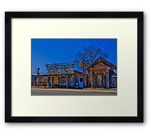 Scenic Saloon Framed Print