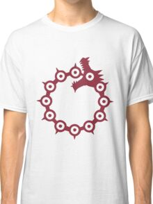 The Seven Deadly Sins - The Dragon Sin of Wrath (Red) Classic T-Shirt