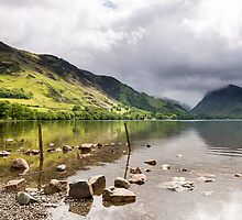 Buttermere and the northern eastern peaks in the Lake District by mattcattell