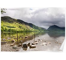 Buttermere and the northern eastern peaks in the Lake District Poster
