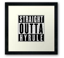 Hylian with Attitude Framed Print