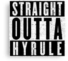 Hylian with Attitude Canvas Print