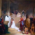 Baptism of Pocahontas by Jeff Pierson