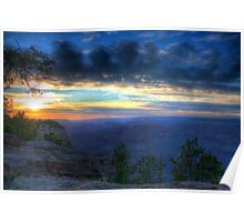 The Grand Canyon Sunset Poster