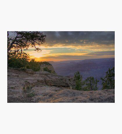 Grand Canyon Sunset Warm Photographic Print