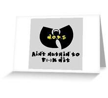 W.O.D.S Greeting Card
