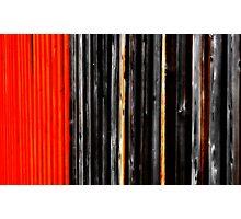 Fences. Photographic Print