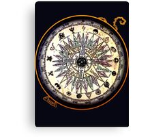 Geek Compass Canvas Print