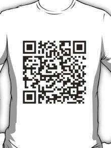 Rick Roll QR t-shirt T-Shirt