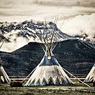 Three Little Tee Pee's by Angela E.L. Clements