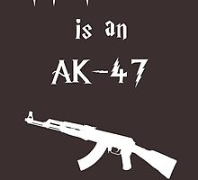 My Patronus is an AK-47 by OuroborosEnt