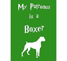 My Patronus is a Boxer Photographic Print