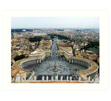 View from St Paul Art Print