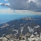 Top of Grand Teton Southward by EarthPhoenix