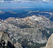 Top of Grand Teton Westward by EarthPhoenix