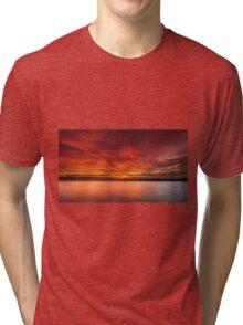 Sunrise by the beach Tri-blend T-Shirt