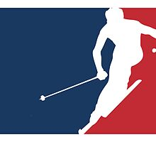 Skiing by major-league