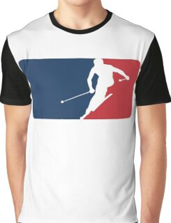 Skiing Graphic T-Shirt