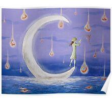 Moonlight Fishing Poster