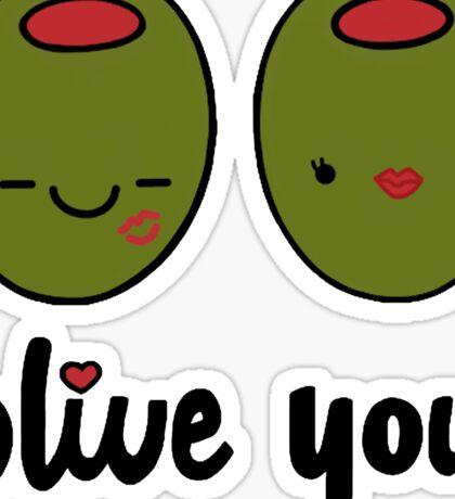 Olive You  Sticker