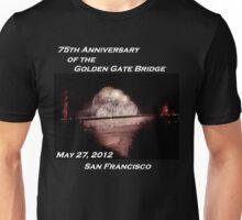 Fireworks - 75th Anniversary of the Golden Gate Bridge Unisex T-Shirt