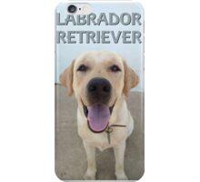 Labrador Retriever Breed portrait iPhone Case/Skin