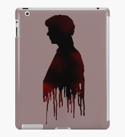 Sherlock Red iPad Case/Skin