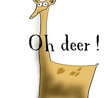 Oh deer! by margaretafriden
