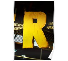 R is for... Poster