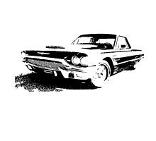 Ford Thunderbird Landau Coupe 1965 by garts